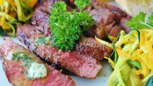 Saftiges Steak vom Teppanyaki Grill, kein Problem